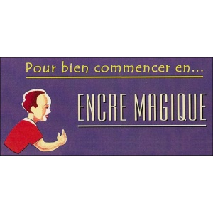 Jeu : L'ENCRE MAGIQUE