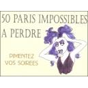 Jeu : 50 PARIS IMPOSSIBLES À PERDRE