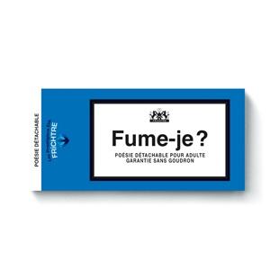 Booklet : Fume-je ?