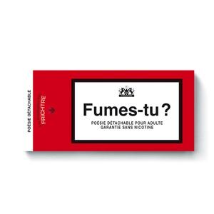 Booklet : Fumes-tu ?