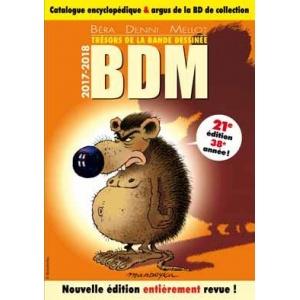 Livre : BDM - Trésors de la Bande Dessinée 2017-2018