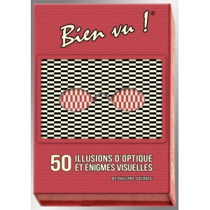 Game : BIEN VU ! 50 OPTICAL ILLUSIONS AND VISUAL RIDDLES