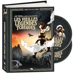 DVD / Blu-Ray : LES VIEILLES LÉGENDES TCHÈQUES (Old Czech Legends)