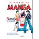 Livre : LE DESSIN DE MANGA - Volume 08 : Habiller filles et garçons