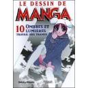 Livre : LE DESSIN DE MANGA - Volume 10 : Ombres et Lumières : travail des trames