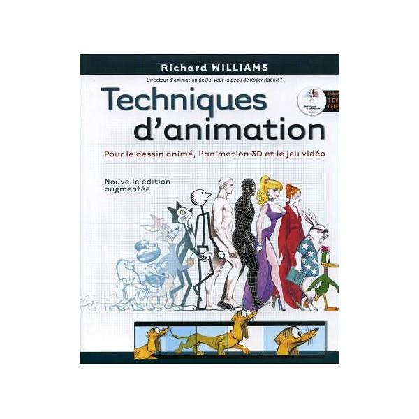 Bien connu Livre : TECHNIQUES D'ANIMATION pour le dessin animé l'animation 3D  HU45