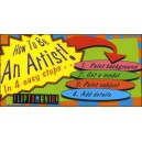 Flipbook : How To Be An Artist ! In 4 easy steps... (2000)