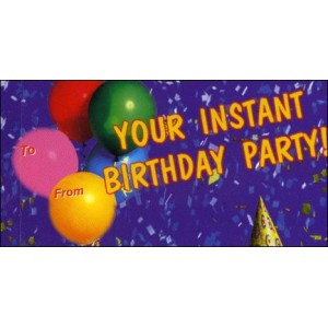 Flipbook : Your Instant Birthday Party !