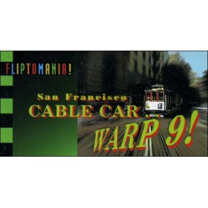 Flipbook : San Francisco CABLE CAR WARP 9 !