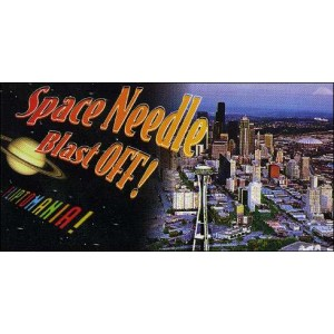 Flipbook : Space Needle Blast OFF ! (Le décollage du Space Needle)