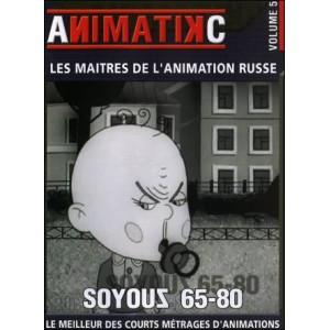 DVD : SOYOUZ 65 / 80  - Les maîtres de l'animation russe