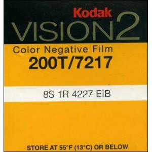 Super 8 : KODAK VISION 2 - 200T / 7217