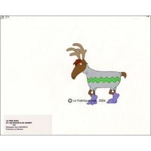 Cellulo : Le Père Noël et les enfants du désert - (Un renne)