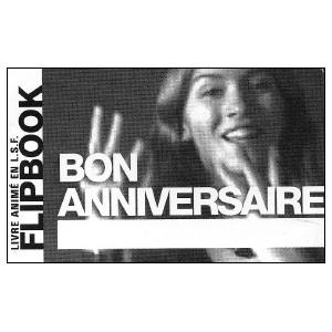 Flipbook : Bon Anniversaire (Happy Birthday)