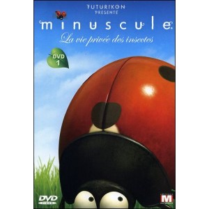 DVD : MINUSCULE - Private life of the insects Vol 1