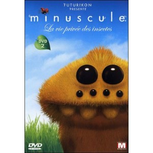 DVD : MINUSCULE - Private life of the insects Vol 2