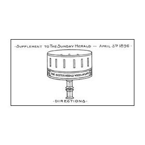 Jouet Optique : Le ZOOTROPE en kit (USA - 1896)