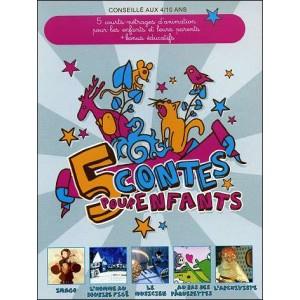 DVD : 5 tales for children (5 contes pour enfants)