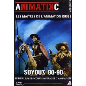 DVD : Soyouz 80 / 90 - Masters of Russian Animation