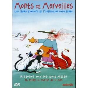 DVD : MONTS ET MERVEILLES - Les chefs d'oeuvre de l'animation canadienne - Vol 3