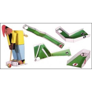 Jouet : Le Mini-Golf Mécanique