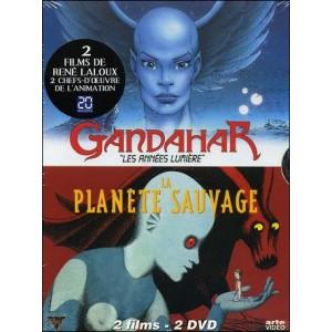 DVD : Coffret LALOUX : La Planète Sauvage & Gandahar