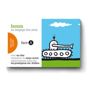 Flipbook : BOUM / OUI A LA PAIX en langage des yeux