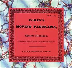 FORE MOVING PANORAMA - Coffret de Phenakisticopes