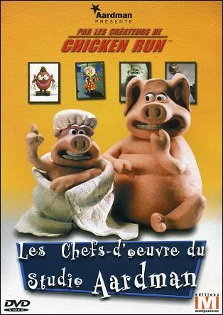 Les Chefs-d'oeuvre du Studio AARDMAN DVD