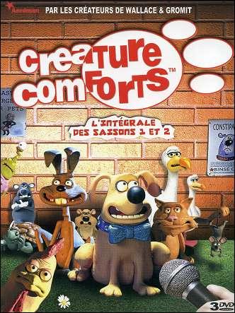 CREATURE COMFORTS L'intégrale des saisons 1 et 2 DVD