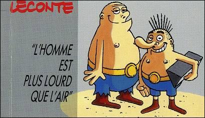 L'HOMME EST PLUS LOURD QUE L'AIR un flipbook par LECONTE
