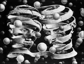 Bond of Union (1956) by ESCHER