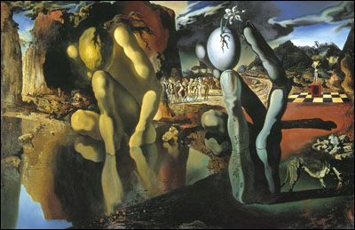 Metamorphosis of Narcissus (1937) by Salvador DALI