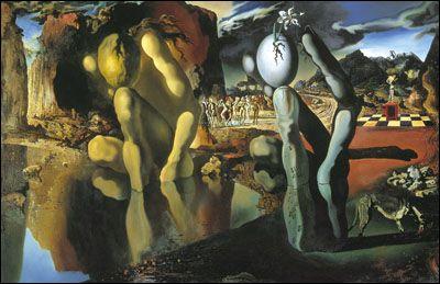 Metamorphosis of Narcissus (1937) by Salvador DALI
