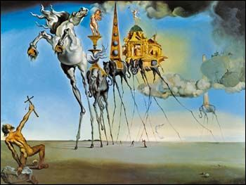 The Temptation os Saint Anthony (1946) by Salvador DALI