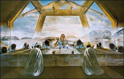 The Sacrament of the Last Supper (1955) by Salvador DALI