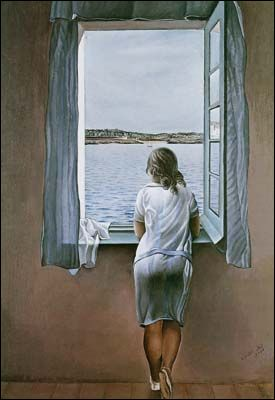 Figure at a Window (1925) by Salvador DALI