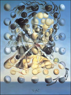 Galatea of the Spheres (1952) by Salvador DALI