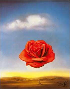 La Rose Méditative (1958) de Salvador DALI