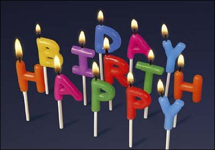 BIRTHDAY CANDLES - 3D viewer - verso