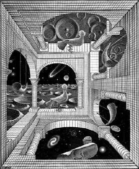 Other World (1947) de ESCHER