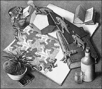Reptiles (1943) by ESCHER