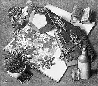 Reptiles (1943) de ESCHER