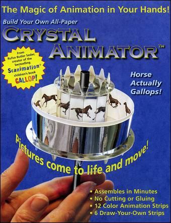 Praxinoscope de papier CRYSTAL ANIMATOR™ - Jouet Optique