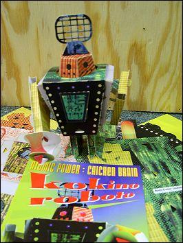 KOKINO ROBOTO - A Paper Robot kit by Joe FREEDMAN (USA) - image 2