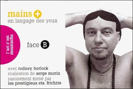 RASOIR / MAINS en langage des yeux - un flip-book de Serge MORIN (2012 / France) - Couverture Verso