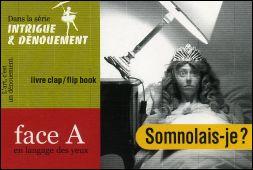 SOMNOLAIS-JE ? - Couverture recto du flipbook de Serge MORIN