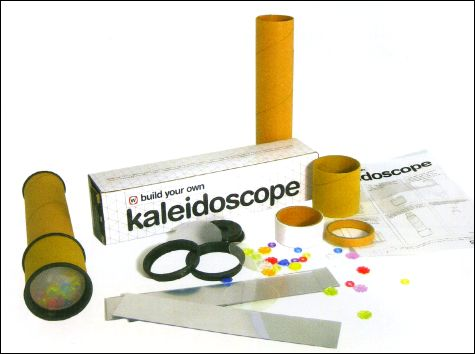 All you need to build your own Kaleidoscope !