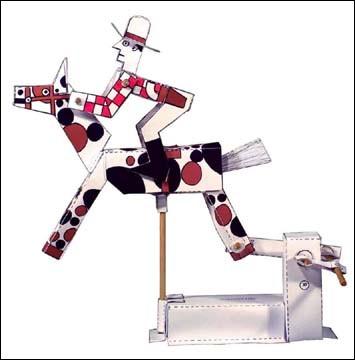 Le Cowboy Mécanique - un automate de Peter MARKEY