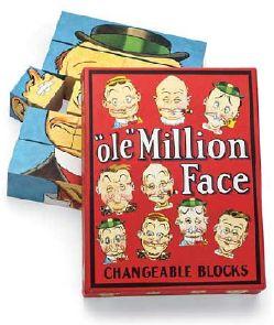 """""""ole"""" MILLION FACE - un jeu de société illustré par Carey ORR (USA) : photographie"""